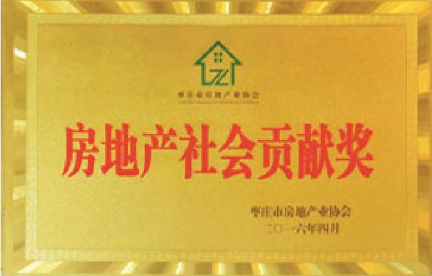 房地产社会贡献奖